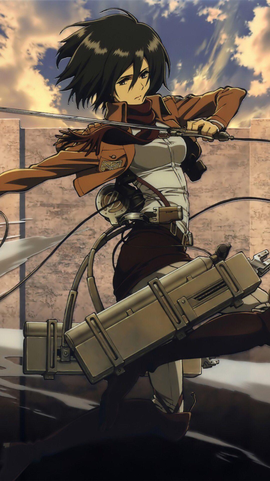 Mikasa Ackerman Attack On Titan Art Attack On Titan Anime Attack On Titan