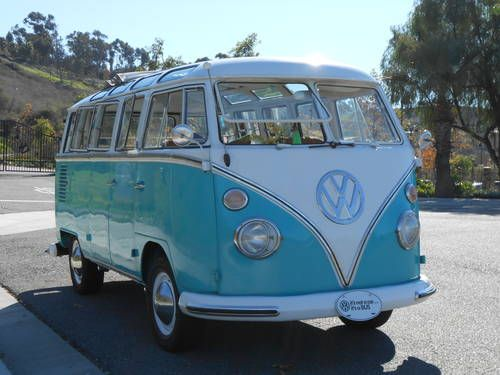 1963 vw 23 window deluxe microbus for the hippie or gypsy for 1963 vw bus 23 window