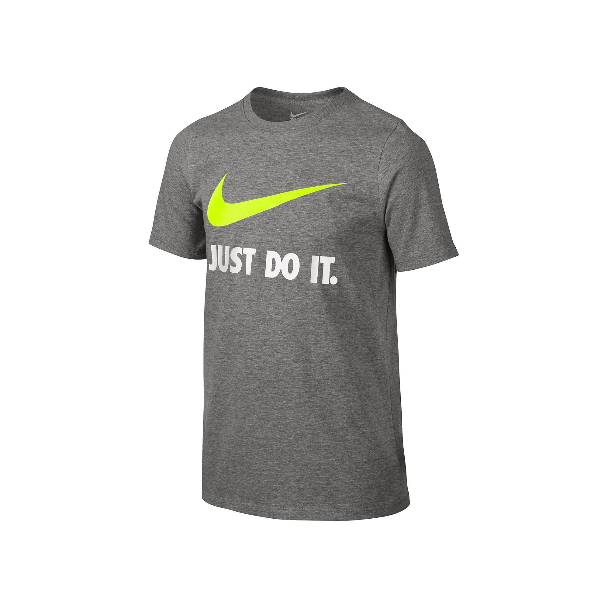 27ab32f2 Boys 8-20 Nike Just Do It Swoosh Graphic Tee, Boy's, Size: Medium, Grey  Other
