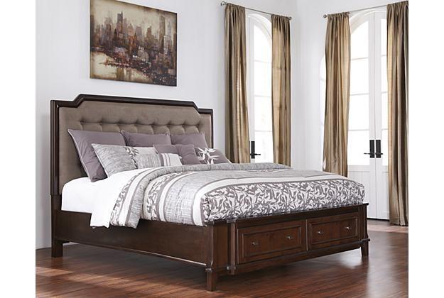 View View 1 Queen Upholstered Headboard Furniture Queen Upholstered Bed