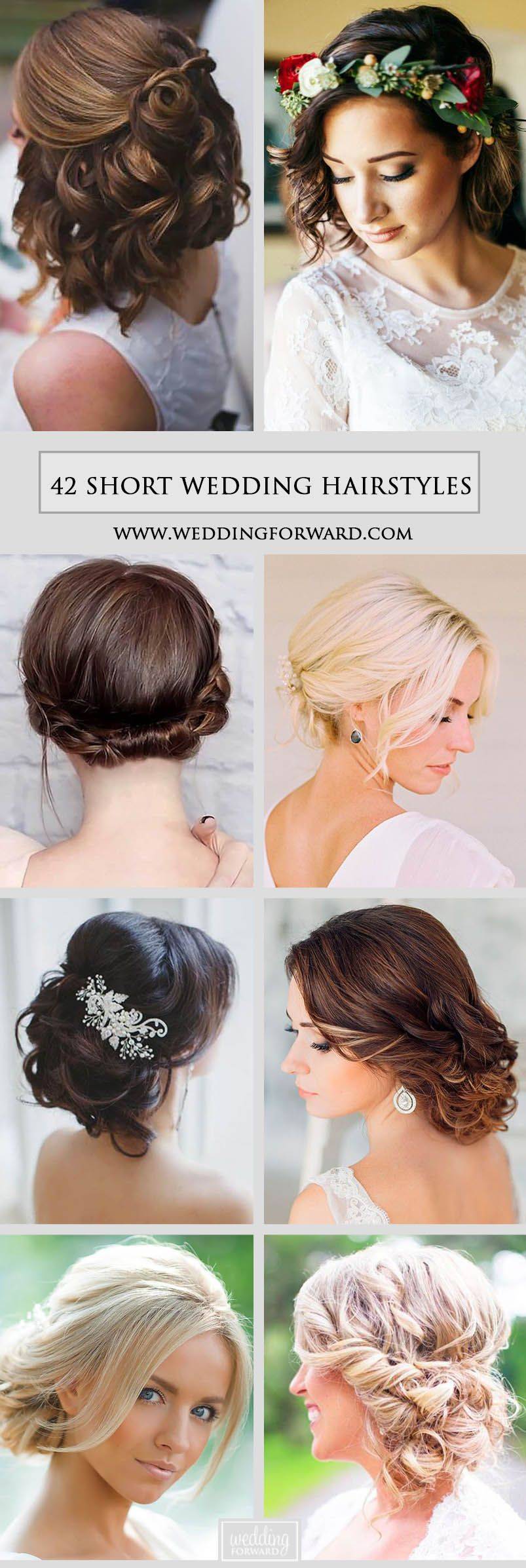 short wedding hairstyle ideas so good youud want to cut hair i