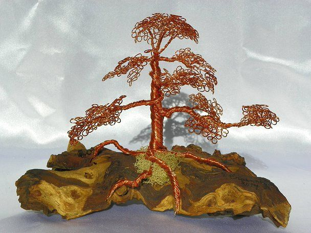 erainntree, wire bonsai, wire tree images, how to make wire trees ...