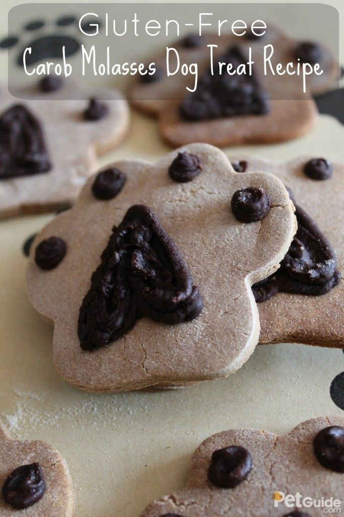Gluten Free Carob Molasses Dog Treat Recipe Dog Treat Recipes