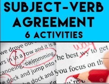 Subject verb agreement bundle answer key subject verb agreement how to teach subject verb agreement enjoy no prep grammar test prep subject verb platinumwayz