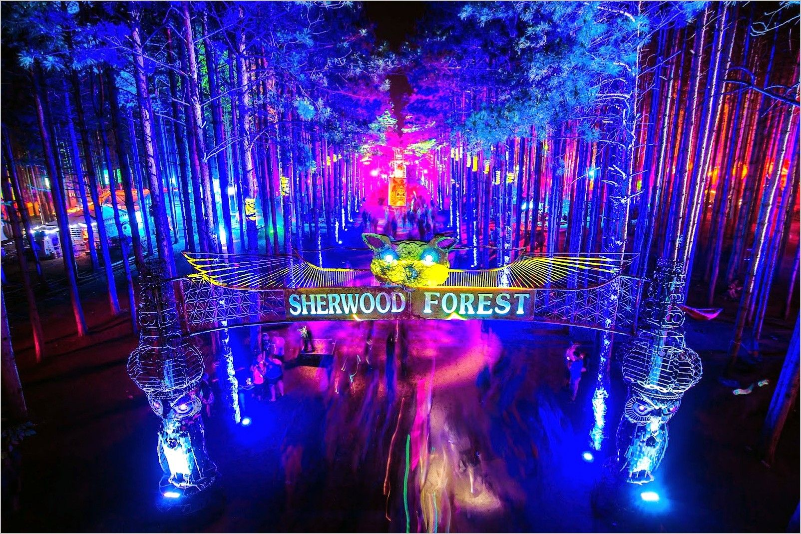 Dj Anime 4k Wallpaper In 2020 Electric Forest Electric Forest Festival Sherwood Forest