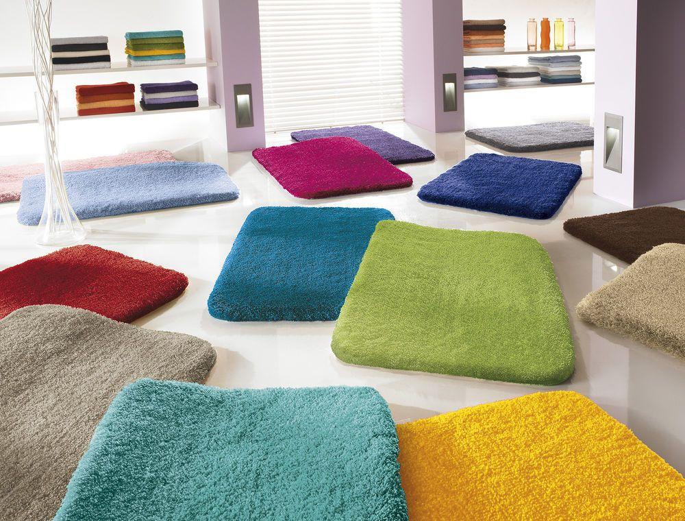 Details Zu Badteppich Kleine Wolke Relax Viele Farben /Größen Wahl