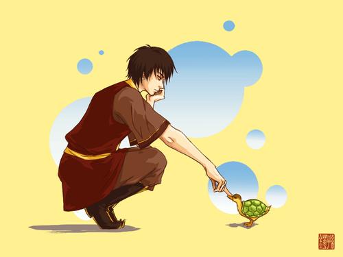 Zuko and Turtle Duck