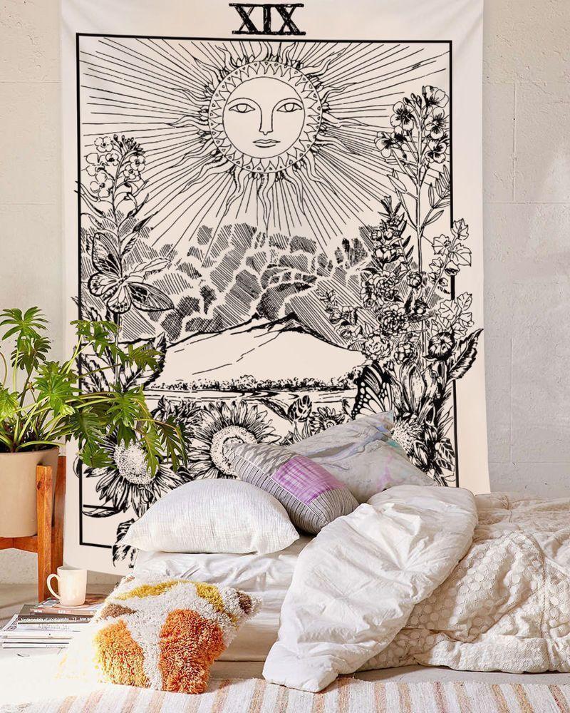 Decoration Murale Pour Tete De Lit tenture murale chambre : tête de lit bohème | parement mural