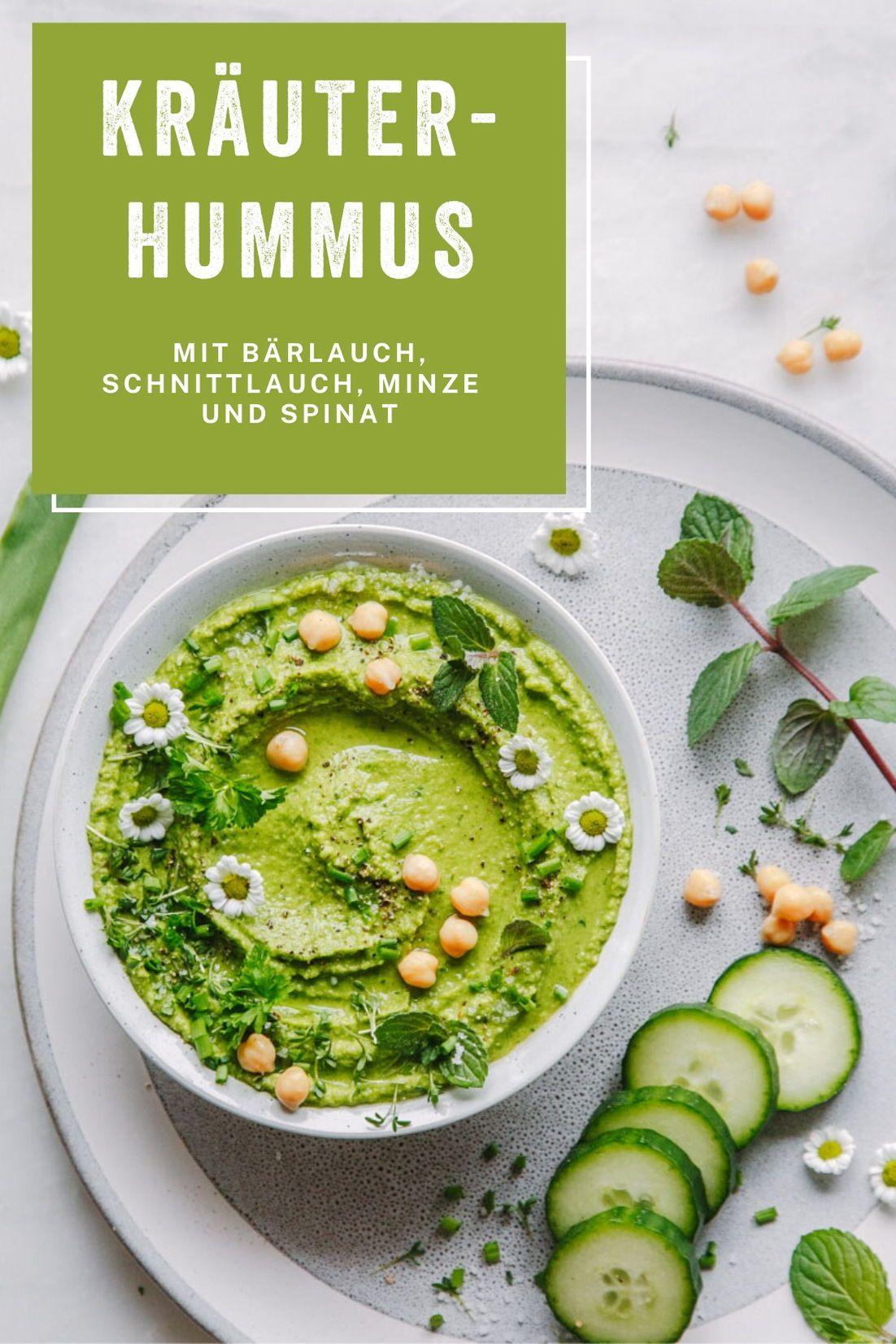 Frühlingskräuter-Hummus
