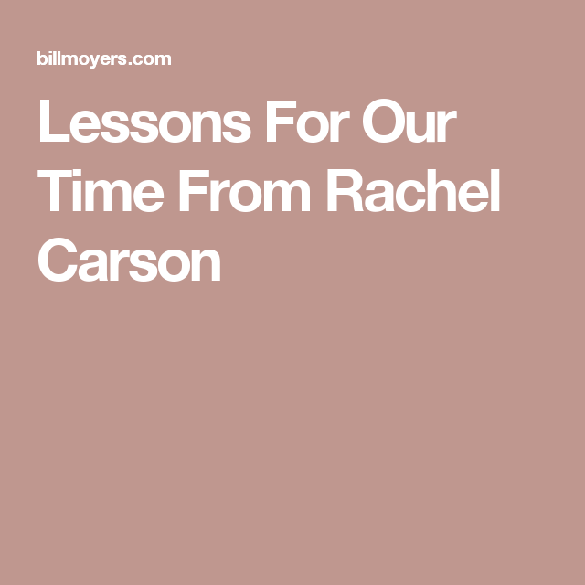 Essay On Dementia Environmentalism  Lessons For Our Time From Rachel Carson School Uniforms Essay Ideas also Essay On Good Student Lessons For Our Time From Rachel Carson  Essays  Pinterest  Essay My Self