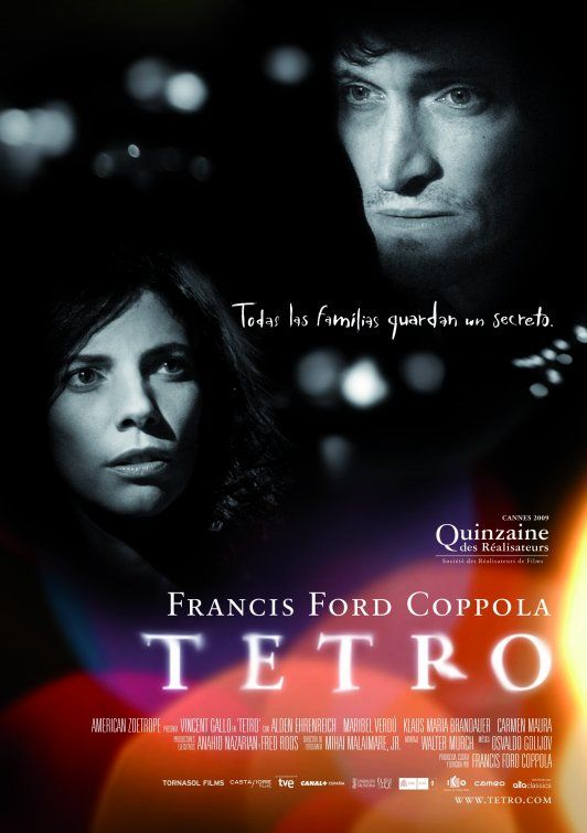 "MP016. ""Tetro"" Spanish Movie poster by Pablo Dávila (Francis Ford Coppola 2009) / #Movieposter"