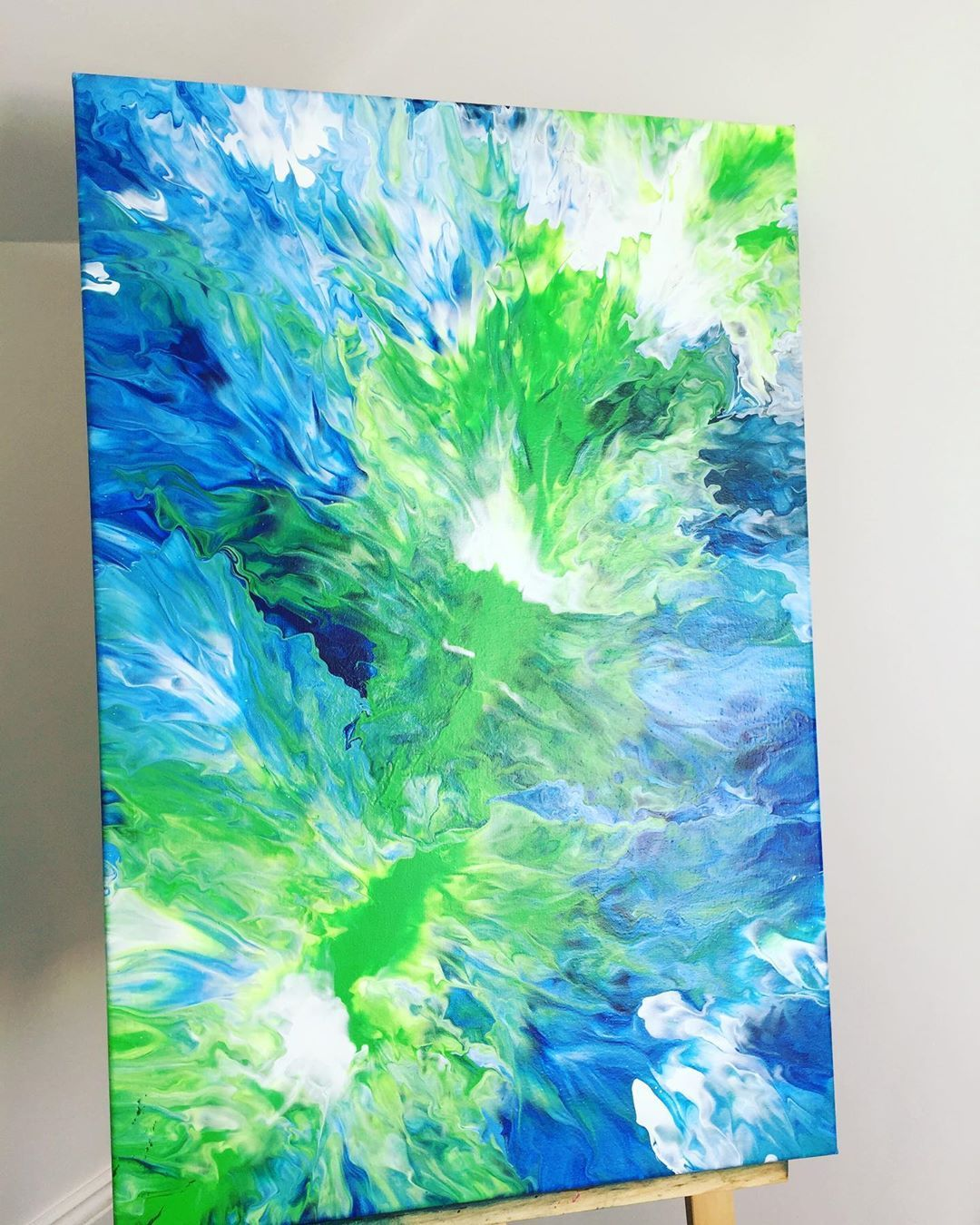 Flood abstract on instagram beautiful lime green crushes
