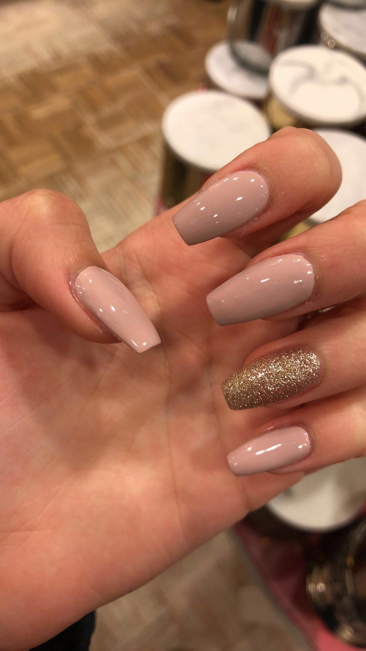 Perfect color for the fall nudenails nails cutenails