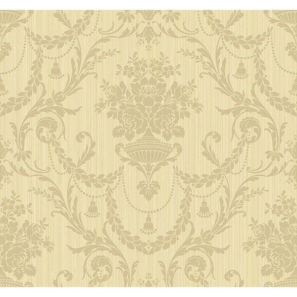 India Damask Wallpaper in Browns by Carl Robinson for Seabrook ...