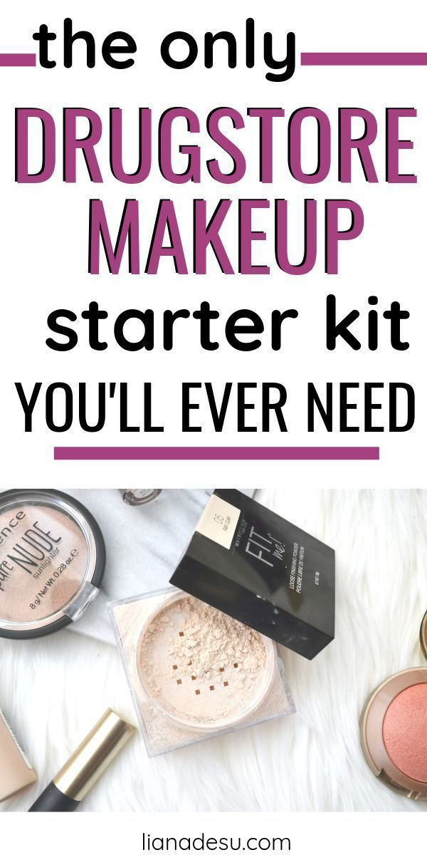 Ultimate Drugstore Makeup Starter Kit für Anfänger  RennaSonge