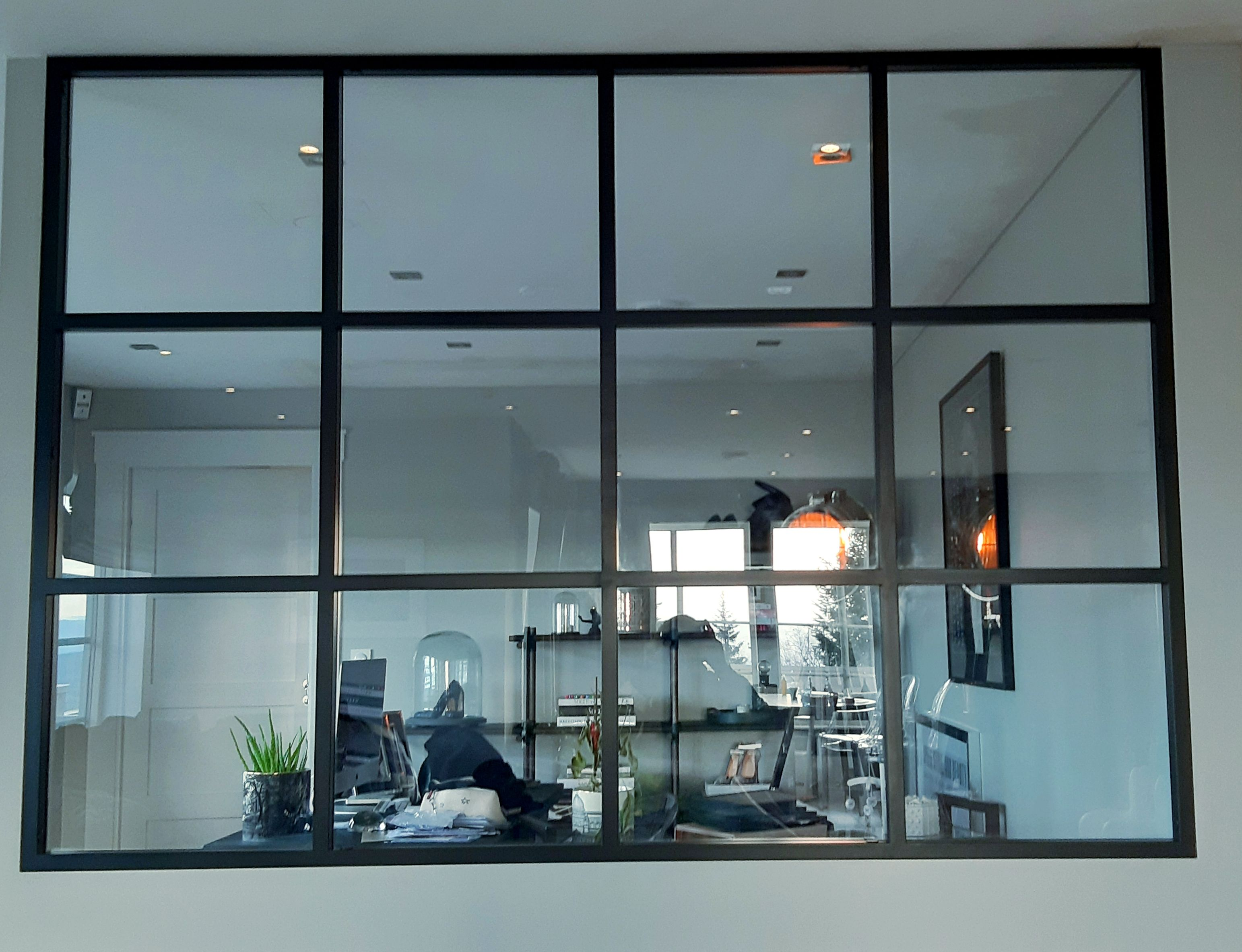 Steel and glass partition delivered and installed to happy c…