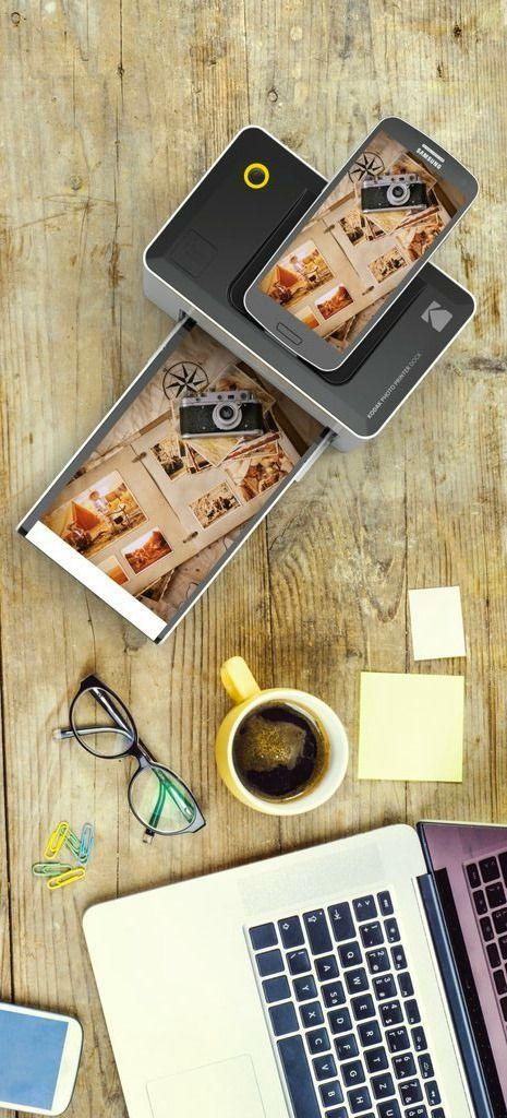 Kodak Dock Wi Fi Photo Printer Dock Lets You Print Photos Direct