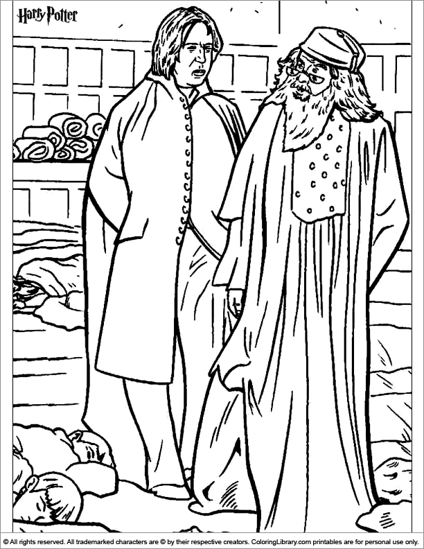 Harry Potter coloring page Coloring Pages (Harry Potter