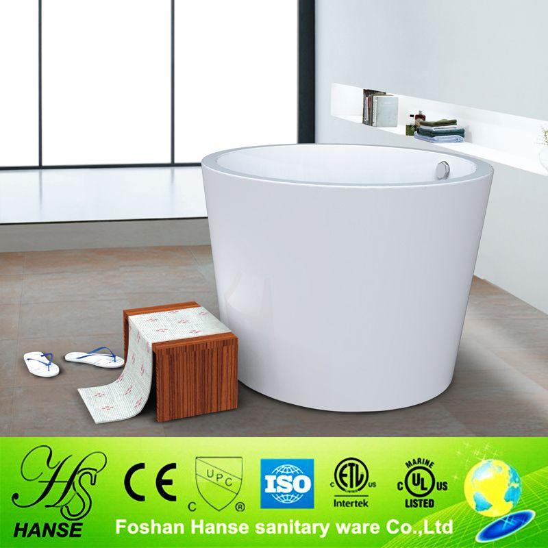 Hs Bz673 Round Japanese Soaking Tub Freestanding Bath