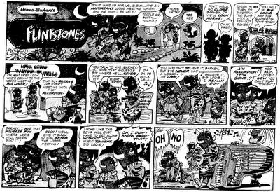 Yowp: Flintstones, Weekend Comics, May 1962