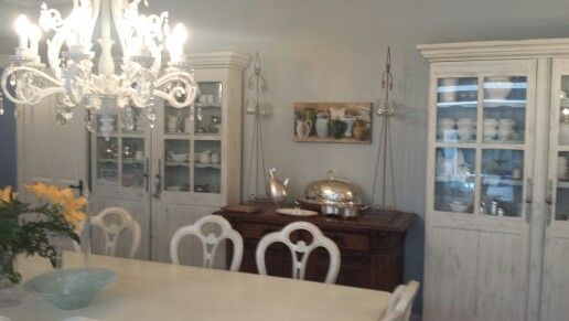 French Blue Dining Room For The Home