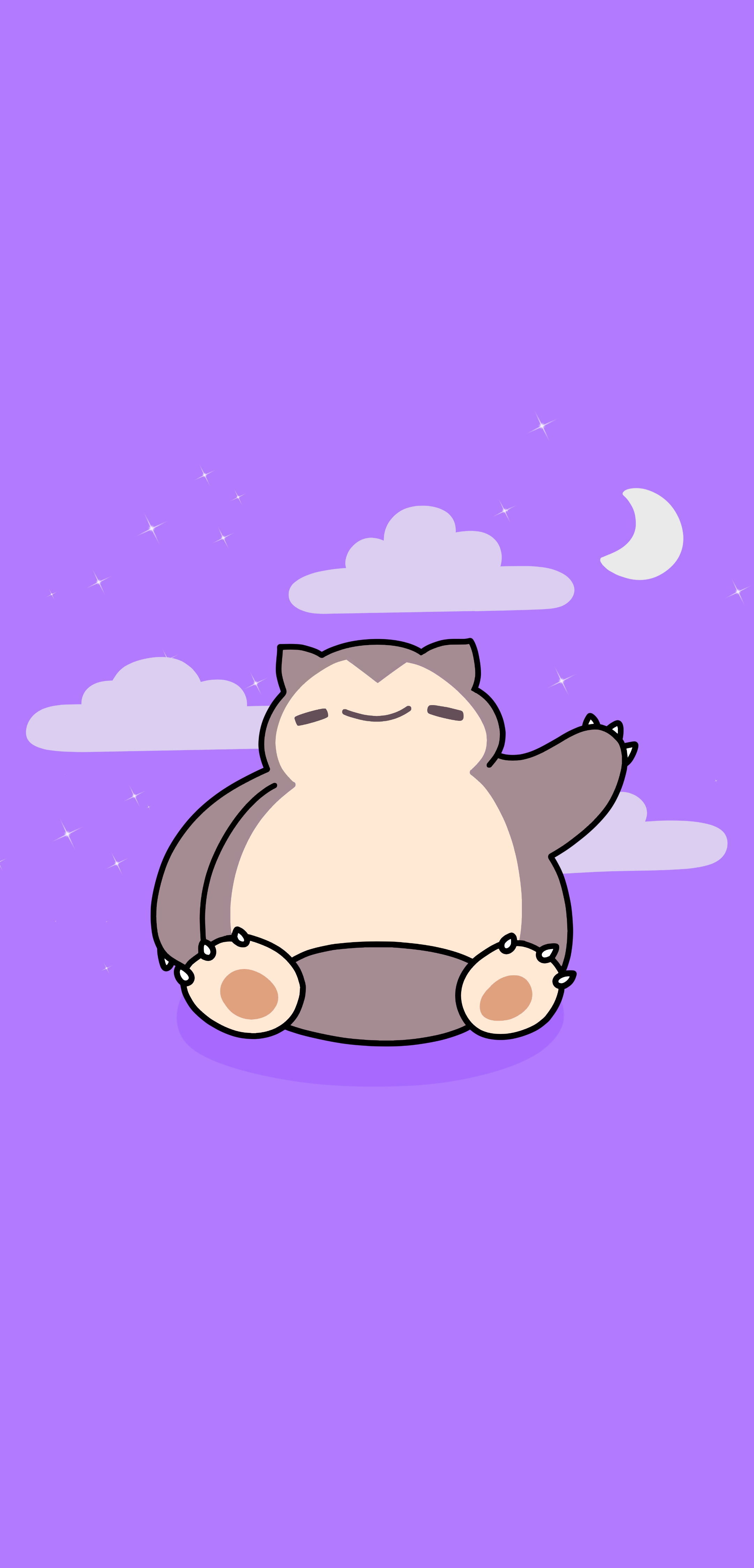 Snorlax Wallpaper inspired by FableFire [2160x4492