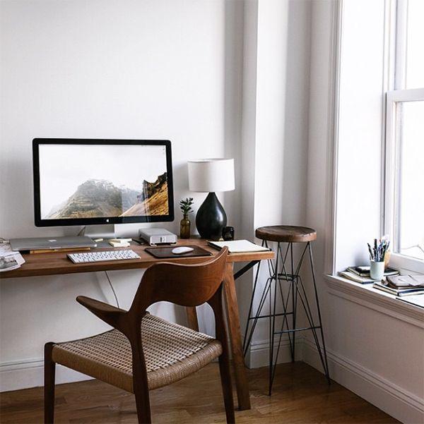 Bureau coin bureau espace de travail