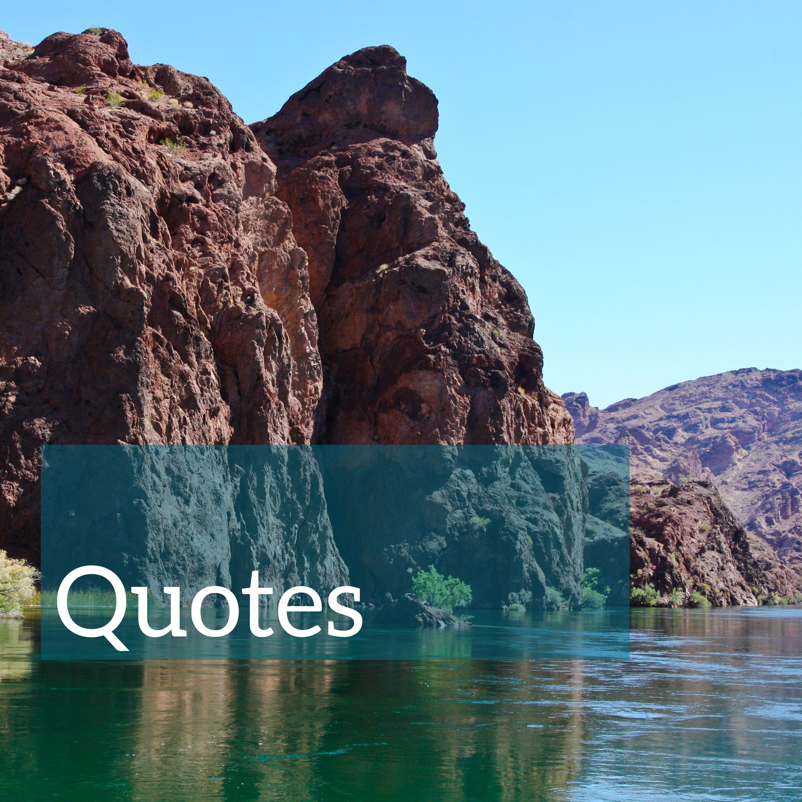 Travel and adventure quotes from the Lake Havasu City CVB ...