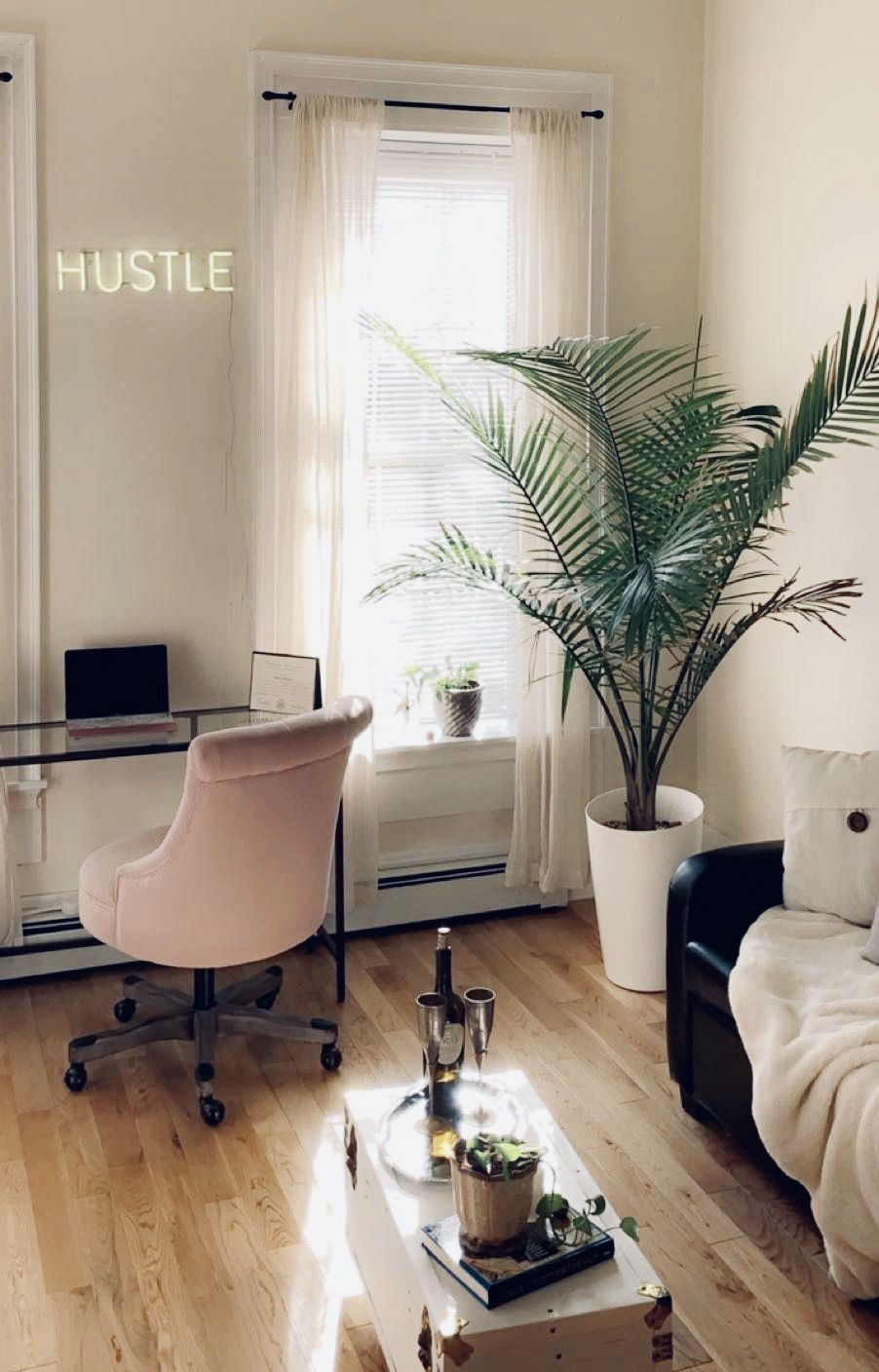 Small Living Room Office Ideas: Small Living Room Office Space Combination Decor