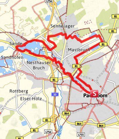 Karte Paderborn.Pb 1 Paderborner Seentour In 2019 Münster Paderborn Paderborn