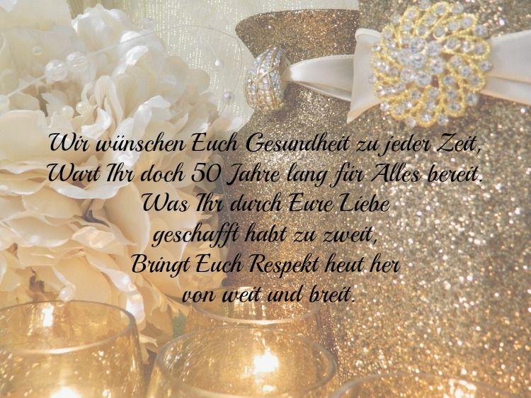 30 Wünsche Und Sprüche Zur Goldenen Hochzeit Der Eltern