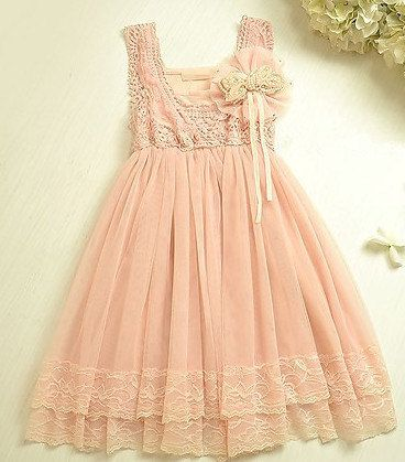 Old Fashioned Childs Bridesmaid Dress