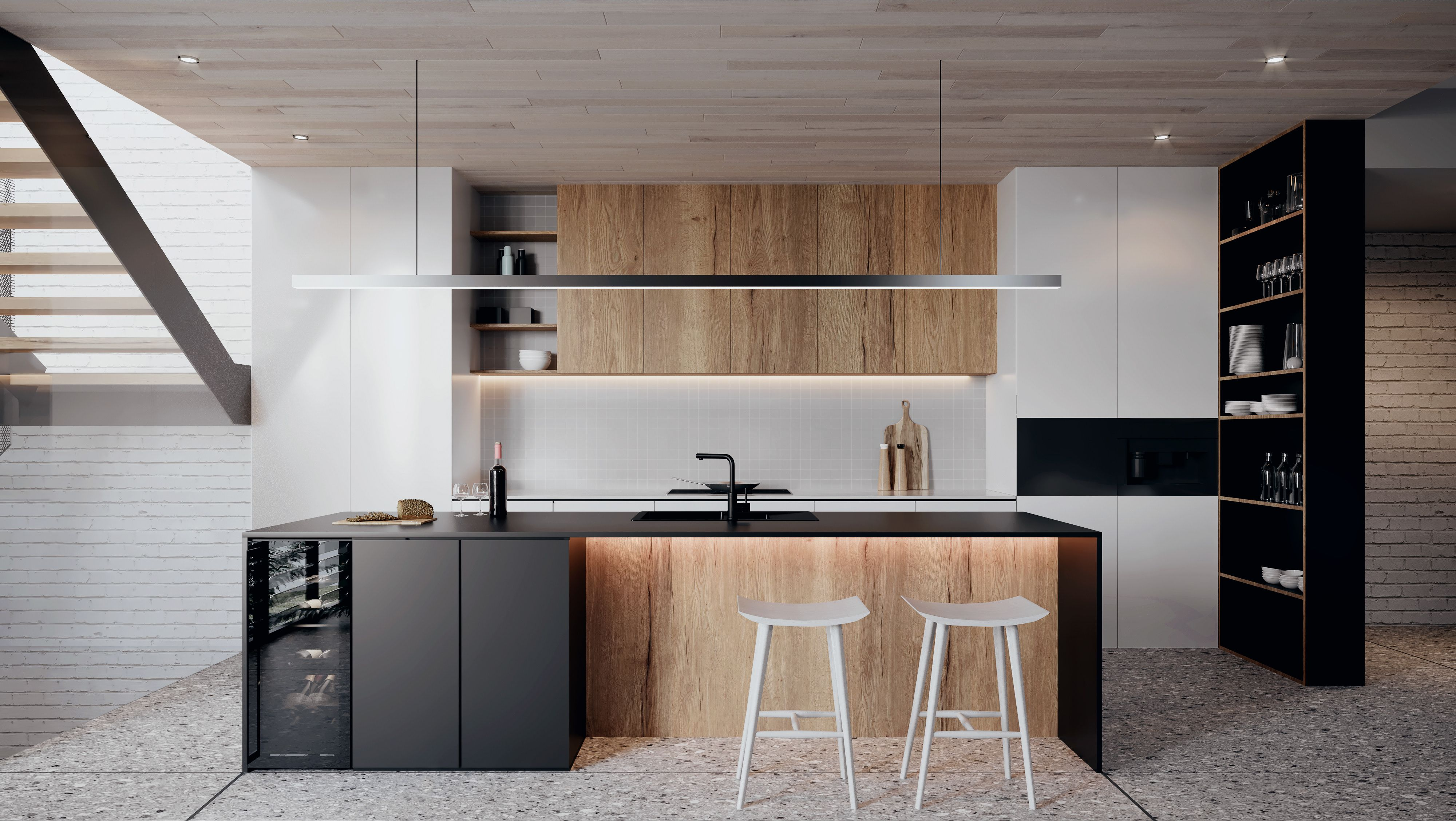 Pin By Minh Ha On House In 2018 Pinterest Kitchen Design