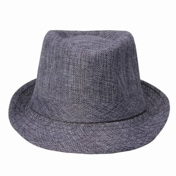 a5d1a760 Wide Brim Panama Fedora Hats for Women Men Jazz Caps Unisex Top Beach Visor  Hat Straw Cap Brief Style Free Shipping DWT