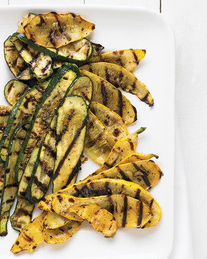 Marinated And Grilled Zucchini And Summer Squash Recipe