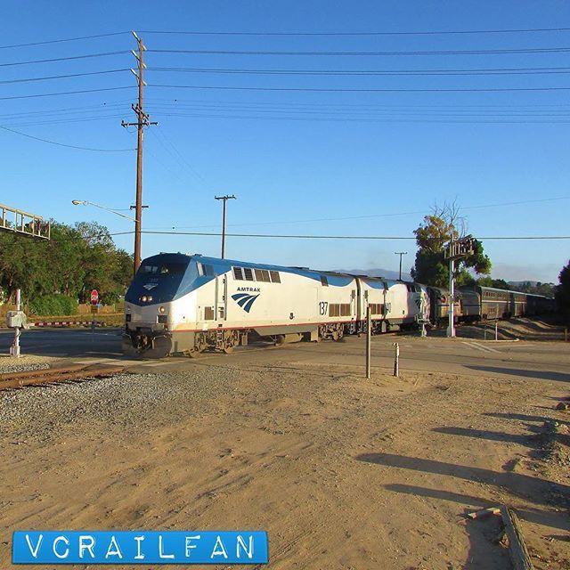 137 and 140 head South  #amtrak #coaststarlight #train11 #p42dc #amtk137 #amtk140 #train #trains #railfan #railfanning #railfannation #arailfanslife #wearerailfans #rsa_theyards #prf_shots #locos_of_america #north_american_rail_pictures #daily_crossing #pocket_rail #trb_express #trb_members1 #railroads_of_america #train_nerds #trains_worldwide by vcrailfan