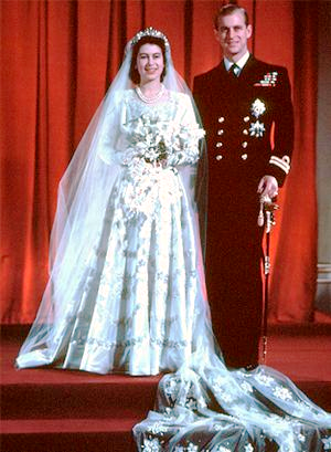 The wedding of Princess Elizabeth Alexandra Mary to Prince