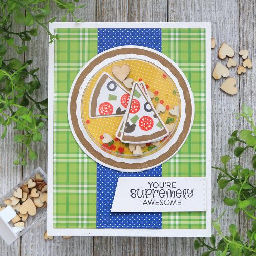 Schütteln Sie es mit Shaker-Karten und Briefmarken  – Jillibean Soup: Shape Shaker Card Ideas