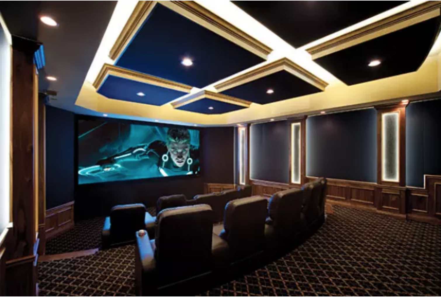 26 Home Theaters You Wish You Owned | Paulas house | Home ... Futuristic Design Home Theatre on simple home theatre, cool home theatre, design home theatre, contemporary home theatre, creative home theatre, modern home theatre,
