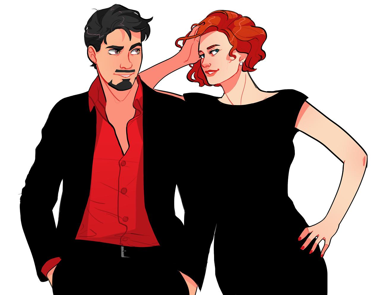 Stark and Romanoff