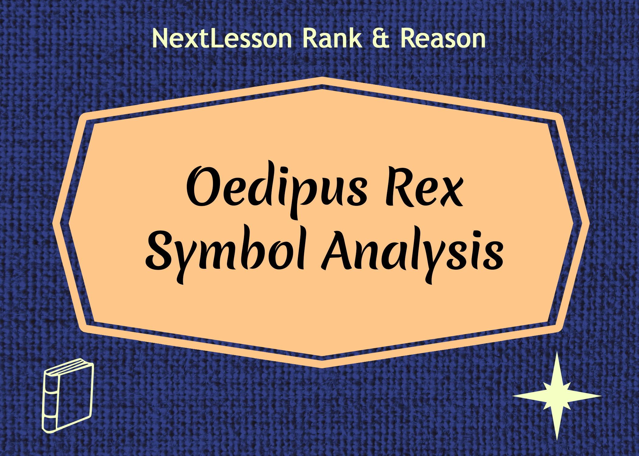 lecture on sophocles oedipus the king literature analyze sophocles use of symbolism in oedipus rex symbol analysis