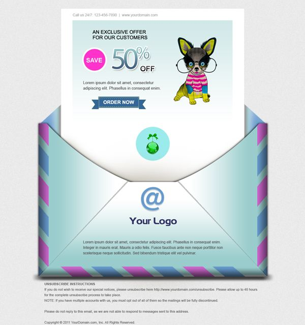 psd to html email newsletter Email HTML 101 Pinterest - coupon sample template
