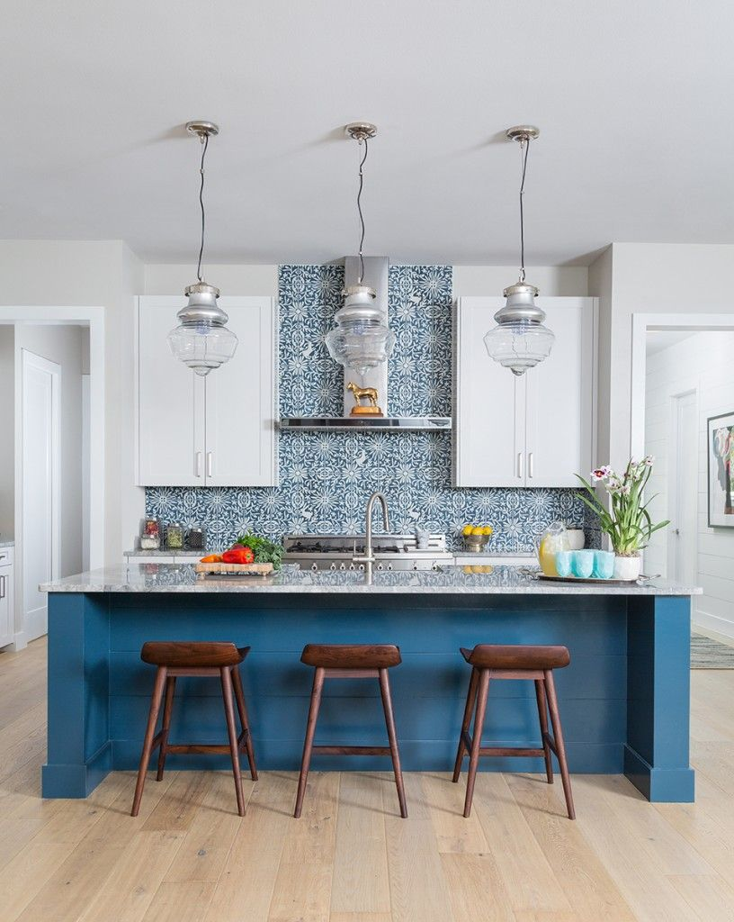 Best 10 More Beautiful Blue Kitchens Kitchen Remodel Kitchen 400 x 300