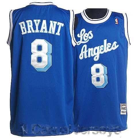 competitive price 13195 af670 Camiseta retro #8 de Kobe Bryant, Los Angeles Lakers ...