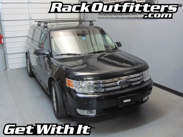Rack Outfitters Ford Flex Thule Rapid Traverse Black Aeroblade Base Roof Rack 08 14 454 85 Http Www Rackoutfitters Com Ford Roof Rack Ford Flex Thule