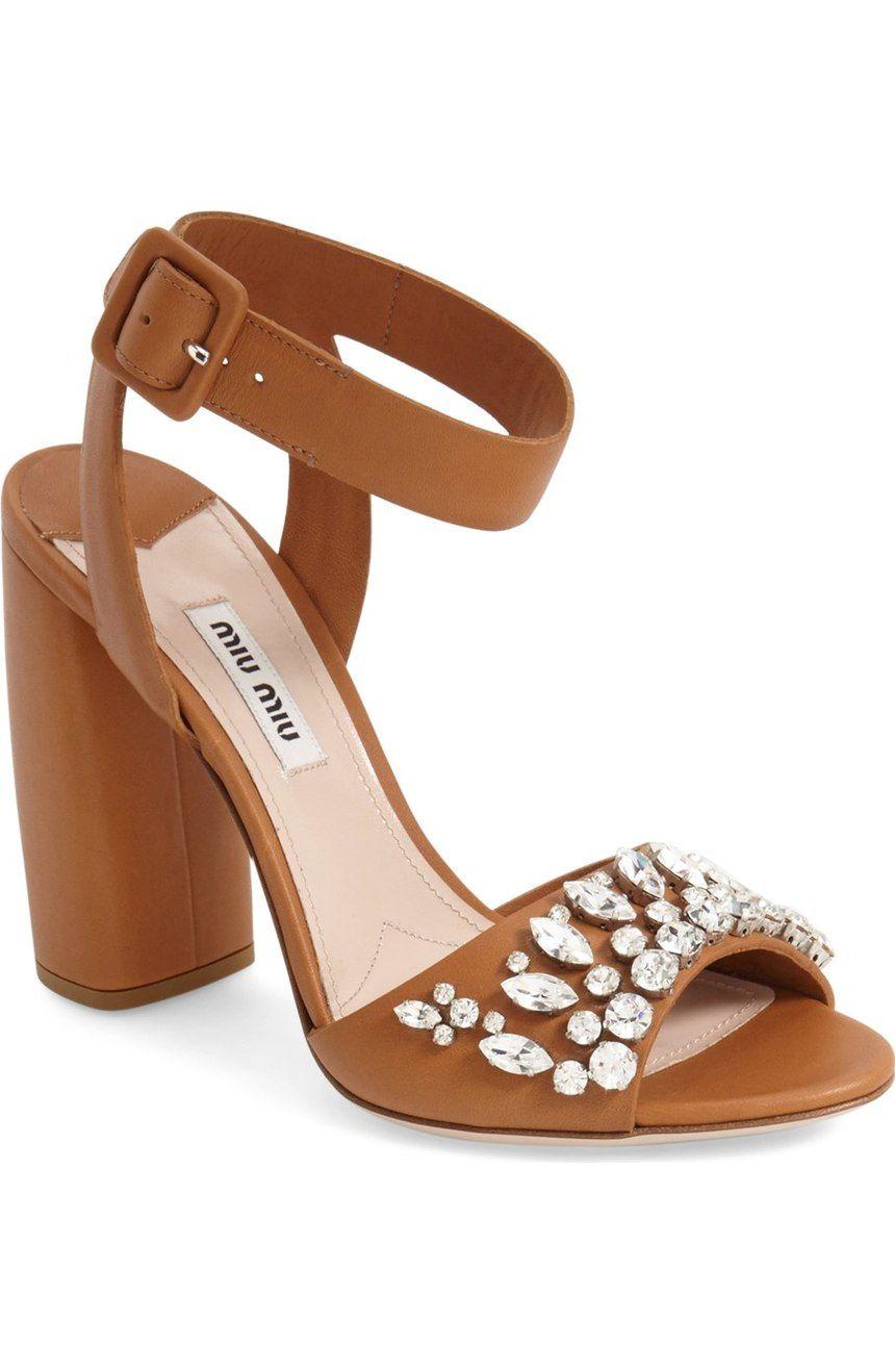 170efd56cb798f Miu Miu  Jewel  Sandal (Women) available at