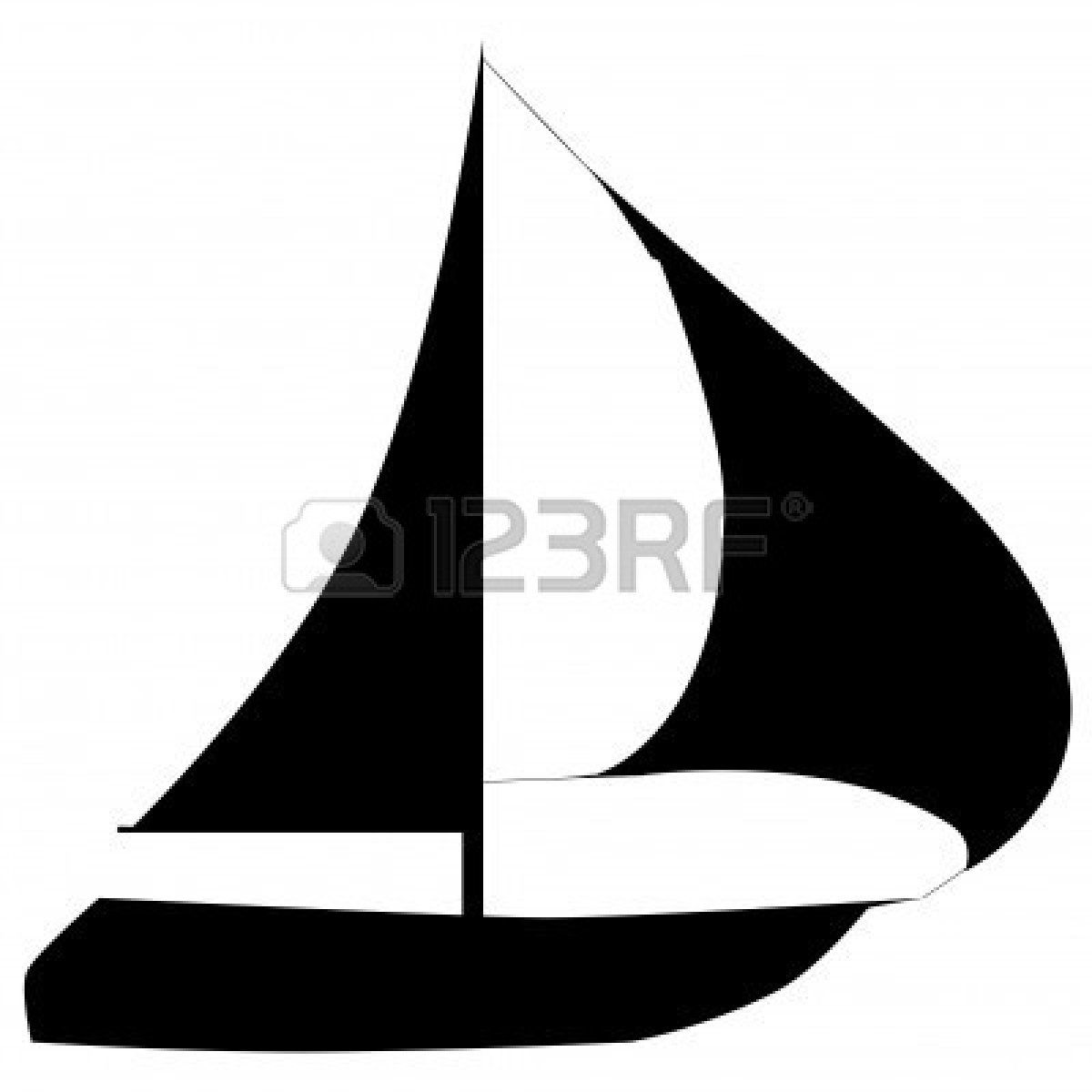 sailboat clipart silhouette - google search | home decor | pinterest