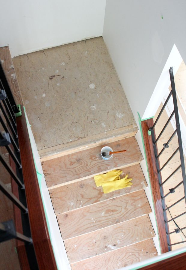 Best Staircase Update Stripping Staining The Wood 400 x 300