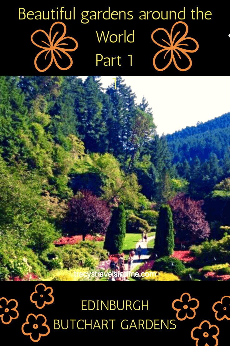 Do you like beautiful gardens? So do I and in this post I am looking at two of the best - Edinburgh Royal Botanical Gardens and Butchart Gardens in Canada