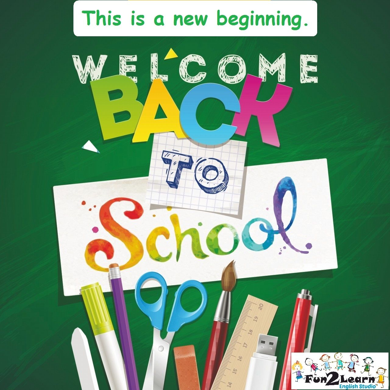 Welcome Back To School Education Is The Most Powerful